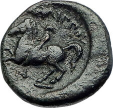 Philip II Alexander the Great Dad OLYMPIC GAMES Ancient Greek Coin Horse i73641