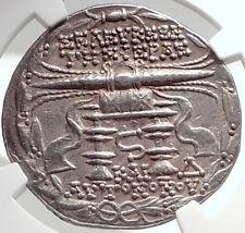 SELEUKEIA PIERIA 104BC Genuine Ancient Silver Greek TETRADRACHM Coin NGC i70262
