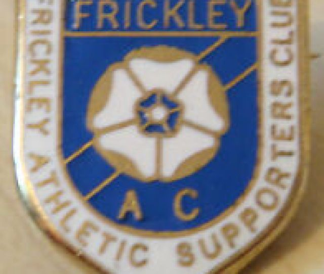 Frickley Athletic Supporters Club Badge Make Reeves Bham Brooch Pin 22mm X 27mm
