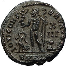 LICINIUS I Enemy of Constantine the Great 312AD Ancient Roman Coin w ZEUS i67095