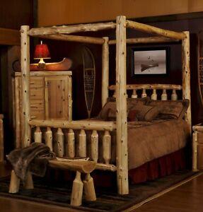 handmade queen rustic beds and bed