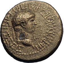 NERO 63AD Very Rare Authentic Ancient Prymnessus in Phrygia Roman Coin i71199
