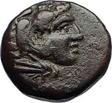 PERGAMON in MYSIA 310BC Authentic Ancient Greek Coin HERCULES & ATHENA i69656