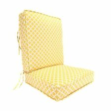 patio yellow furniture cushions pads
