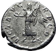 SEPTIMIUS SEVERUS 193AD Rome Silver Authentic Ancient Roman Coin Victory i70273