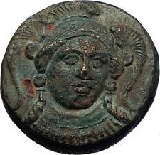 KLAZOMENAI in IONIA Authentic Ancient 380BC Greek Coin w ATHENA & RAM i69283