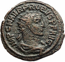 PROBUS w Woman Ancient 280AD Genuine Authentic Roman Coin from Antioch i76677