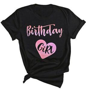 Birthday Girl Shirt In Women S Tops Blouses For Sale Ebay