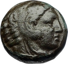 ALEXANDER III the GREAT 336BC Macedonia Ancient Greek Coin HERCULES CLUB i69689