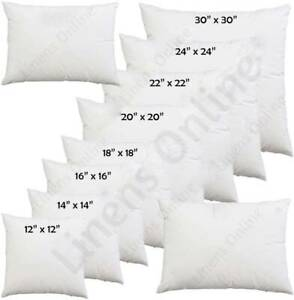 cushion fillers 18 x 18 for sale ebay