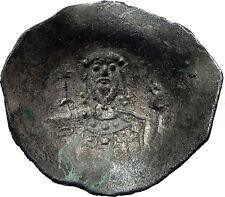 JOHN II Comnenus 1118AD Ancient Rare BYZANTINE  Coin JESUS CHRIST  i73263