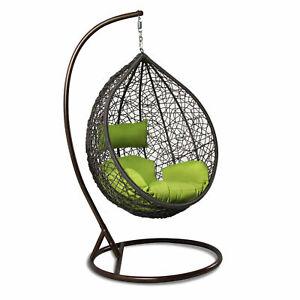 wicker swing patio chairs swings