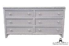 Lexington Henry Link White Wicker 58 Double Dresser 477 222