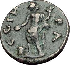 ELAGABALUS 218AD Parion Parium Mysia Authentic Ancient Roman Coin Genius i64771