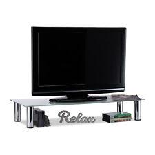 table tv en verre en vente ebay