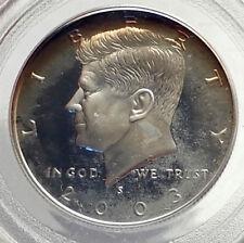2003 JOHN F KENNEDY Proof Silver Half Dollar US Coin PCGS PR 69 Certified i70578
