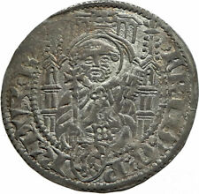 1449AD GERMANY German States PALATINATE Frederick I Silver Coin St PETER i74593