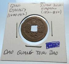 1821AD CHINESE Qing Dynasty Genuine Antique XUAN ZONG Cash Coin of CHINA i71467