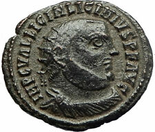 LICINIUS I Constantine I enemy 321AD Authentic Ancient Roman Coin JUPITER i76676