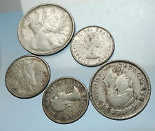 GROUP LOT of 5 Old SILVER Europe or Other WORLD Coins for your COLLECTION i67948