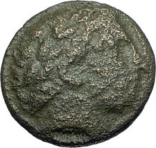 LYSIMACHOS 317BC Apollo OLYMPIC Horse of Philip II Ancient Greek Coin i67834