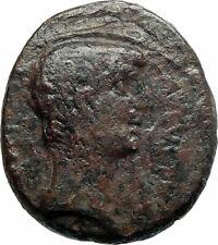 AUGUSTUS 27BC Macedon Pella Dium Duoviri  Herennius, Titucius Roman Coin i76281