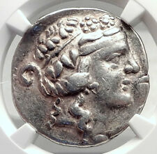Celtic Celts Danube Silver Tetradrachm Greek Style Coin like THASOS NGC i72633