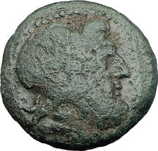 THESSALONICA Macedonia 1stCenBC RARE R2 Ancient Greek Coin JUPITER GALLEY i63121