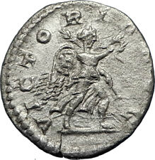 SEVERUS ALEXANDER 222AD Silver Authentic Ancient  Roman Coin Victory i69626