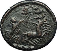 CONSTANTINE I the Great CHARIOT to GOD HAND in HEAVEN Ancient Roman Coin i70734