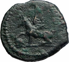 ANONYMOUS Genuine Ancient 81AD Rome Roman Quadrans Coin GRIFFIN TRIPOD i74887