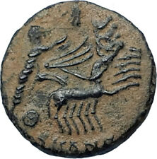 CONSTANTINE I the Great CHARIOT to GOD HAND in HEAVEN Ancient Roman Coin i68033