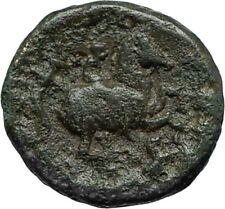 LYSIMACHOS 317BC Apollo OLYMPIC Horse of Philip II Ancient Greek Coin i66694