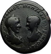 MACRINUS and DIAUDUMENIAN Marcianopolis Ancient Roman Coin w LIBERALITAS i70724