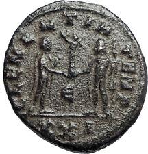 CARINUS Carus son Numerian brother 283AD Ancient Roman Coin JUPITER ZEUS i67113