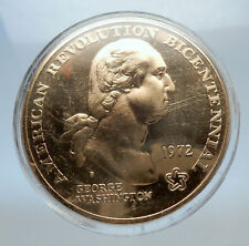 1972 UNITED States of America US Medal GEORGE WASHINGTON LIBERTY TREE i70762