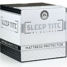 Ed Deep Pocket Mattress Protector Hypoallergenic Cotton Pad Bedding Cover