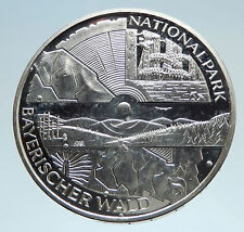 2005 GERMANY Bavarian National Park Genuine Silver German 10 Euro Coin i75133
