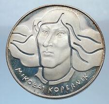 1973 POLAND Silver 100 Zlotych Scientist KOPERNIC COPERNICUS POLISH Coin i71834