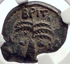 BRITANNICUS NERO Antonius Felix Jerusalem Ancient Roman CLAUDIUS Coin NGC i70648