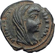 Divus Saint CONSTANTINE I the GREAT 347AD Authentic Ancient Roman Coin i68041