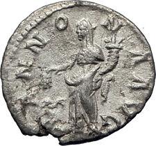 SEVERUS ALEXANDER 226AD Rome Authentic Ancient Silver Roman Coin ANNONA i73610