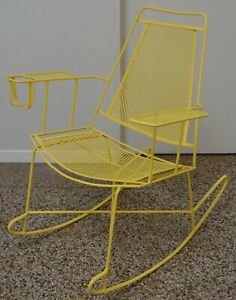 wrought iron patio rocking chairs for