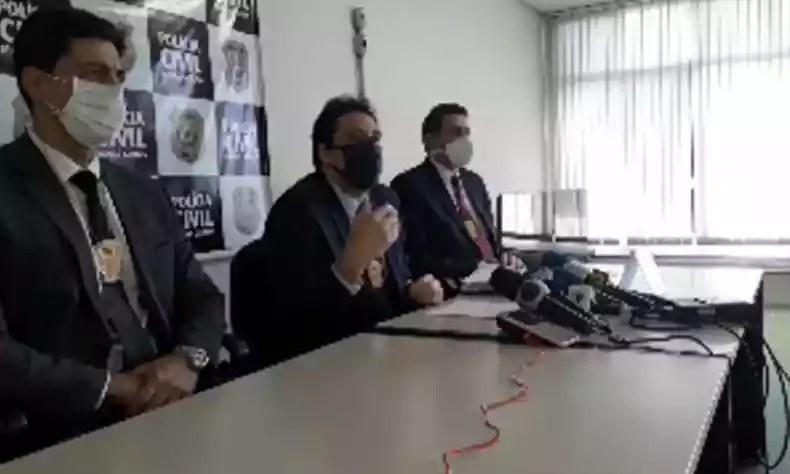 Polícia Civil explicou os detalhes do inquérito durante entrevista nesta sexta(foto: Divulgação/Polícia Civil de Minas Gerais)