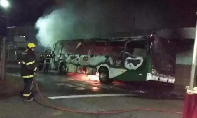 Ocorrência em Alfenas mobilizou PM e Corpo de Bombeiros (foto: Reprodução da Internet / Whatsapp)