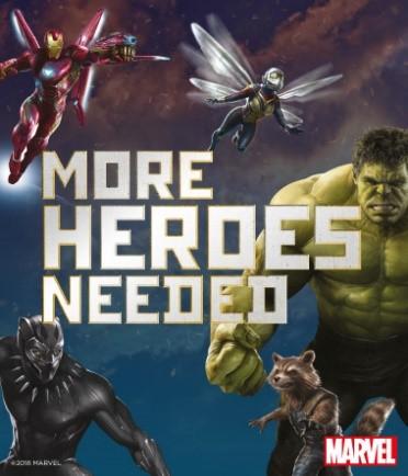 Test pupil superhero aptitudes with Marvel