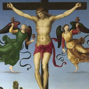 Detalle de Raphael, The Mond Crucifixion, alrededor de 1502-3 © The National Gallery, Londres