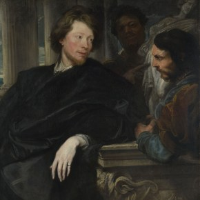 "Anthony van Dyck, ""Retrato de George Gage con dos asistentes"", probablemente 1622-3 © The National Gallery, Londres"