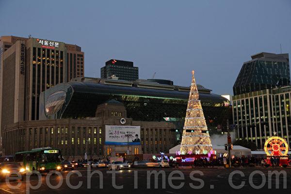 韓國漸現聖誕節氣氛 | 大紀元