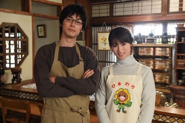 日剧《拜托请爱我》剧照,左为藤冈靛饰演的黑泽步,右为深田恭子饰演的柴田美知子。(纬来日本台提供)